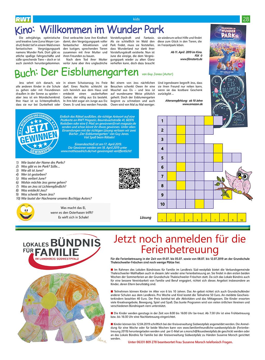 Rwt Magazin April 2019 Mathiasedrichde